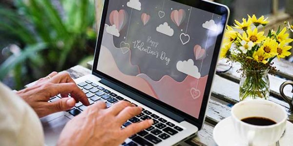 love and technology on Valentine's Day